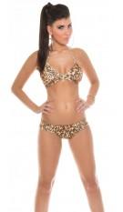 Sexy Neckholder-Bikini with Zip Leo