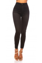 Sexy high waist must have jeans Black