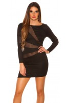 Sexy Koucla Partydress w.insight Black