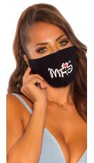 Trendy washable Mask  Black