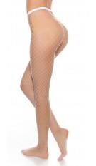 Sexy mesh tights White