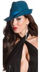 Sexy Koucla ClubWear Hat witz bow Petrol