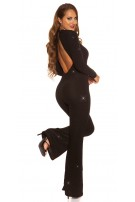 Sexy Glitzer It S PaRTy TiMe jumpsuit Black