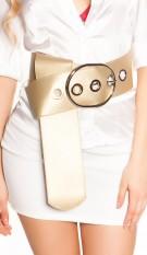 Sexy XXL waist belt Gold