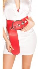 Sexy XXL waist belt Red