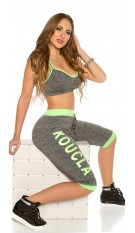 Trendy KouCla Workout Outfit Neongreen