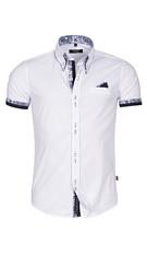 Short-Sleeved-Blouse White