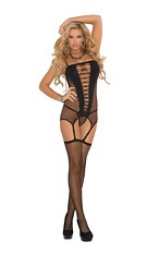 3 Piece Lingerie Set Black