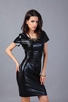 2a47e1d1ae172a Sexy Wetlook Jurkje Zwart - ei0024-1 van SXY Trend - Italia-Store ...