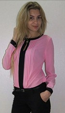 Long-Sleeved Chiffon Shirt Pink