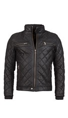 Leather-imitation Jacket Black