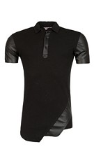 Polo T-Shirt Zwart
