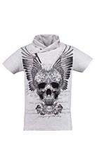 T-Shirt Grijs-melange