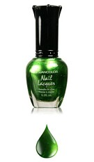 Nailpolisch Metallic green