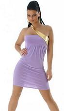 Dress Flieder / Gold
