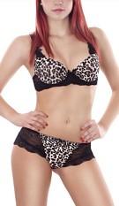 Bra + Pants Leopard