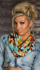 Scarf Mixed iceblue