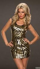 Dress Black / Gold