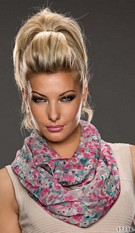 Scarf Pink / Gray