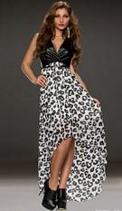 Dress Black / White