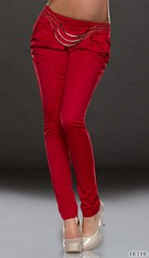 Trouser Red