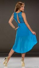 Mullet-Dress Blue
