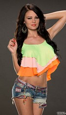 Crop Top Mixed / Orange