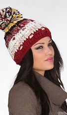 Knitted Hat Mixed / Yellow