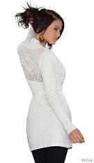 Long-Waistcoat White