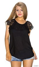 Short-Sleeved-Shirt Black
