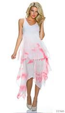 Midi Dress Mixed / Rose