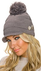 Knitted Hat Darkgray