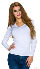 Sweatshirt White