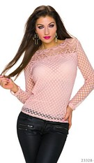 Knitted-Shirt Pink