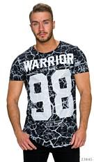 T-Shirt Zwart / Wit