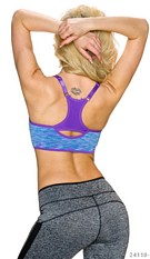 Crop-Top Mixed / Purple