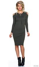 Midi Dress Olive