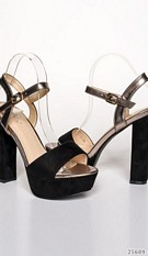 Plateau-pumps Black