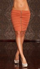 Skirt Rust brown