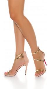Sexy High Heel Sling Sandal Pink