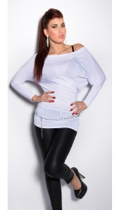 Sexy Bat-Shirt White
