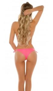 Sexy Brazilian slip, tied sideways Neoncoral