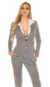 Sexy KouCla Business Blazer Grey