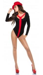 Sexy KouCla Bi-Colored Body Red