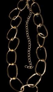 Sexy XL chain belt Gold