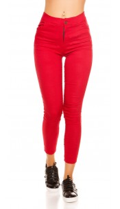 Sexy thermo treggings Red