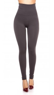 Sexy Thermo Shape High Waist Leggings Anthracite