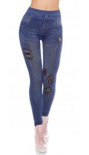 Trendy Jeanslook-Leggins