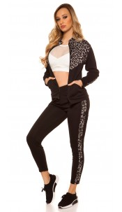 Trendy Jogging, Jogger & Jacket Black