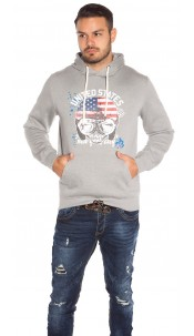 Trendy Men s Hoodie with print